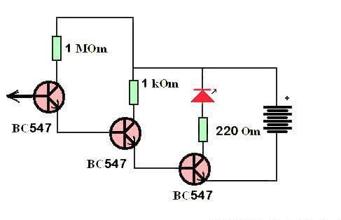 Детектор для скрытой проводки